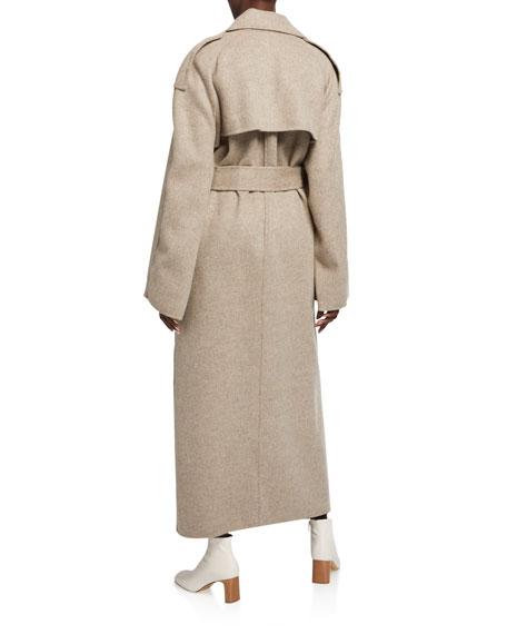 Khaite Meegan Belted Coat