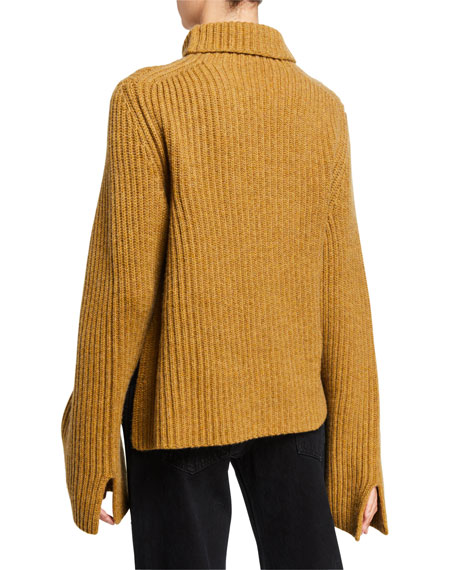 Khaite Molly Cashmere Turtleneck Sweater