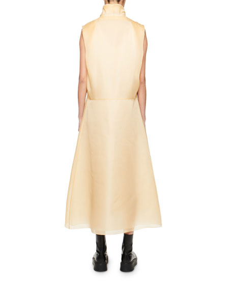 THE ROW Virginia Silk Organza Dress