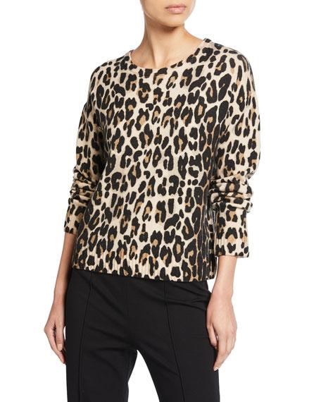 Escada Sinima Leopard Wool Sweater