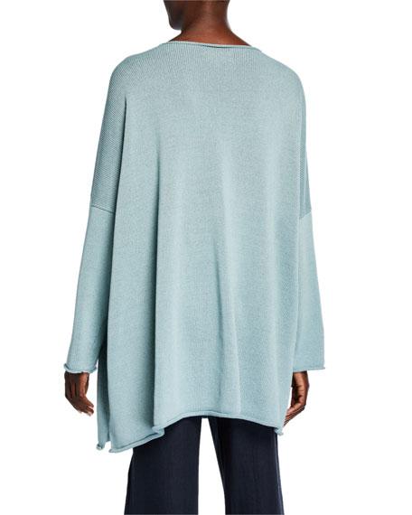 Eskandar Square Mercerized Cotton Top