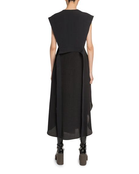 Stella McCartney V-Neck Patchwork Dress