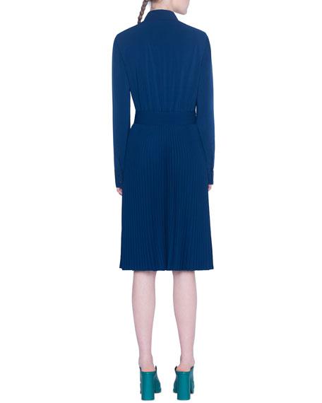 Akris punto Kent-Collar Shirtdress