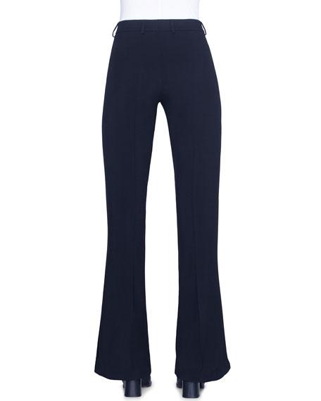 Akris punto Mikka Tricotine Straight-Leg Pants