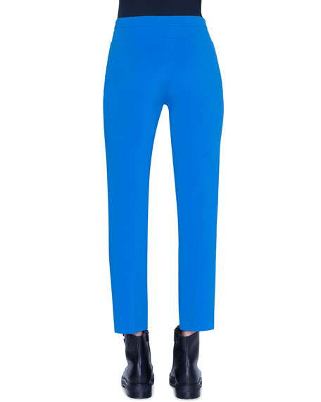 Akris punto Franca Stretch Cotton Pants
