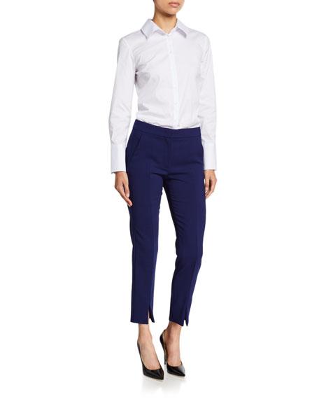 Maxmara Sassari Straight-Leg Ankle Pants