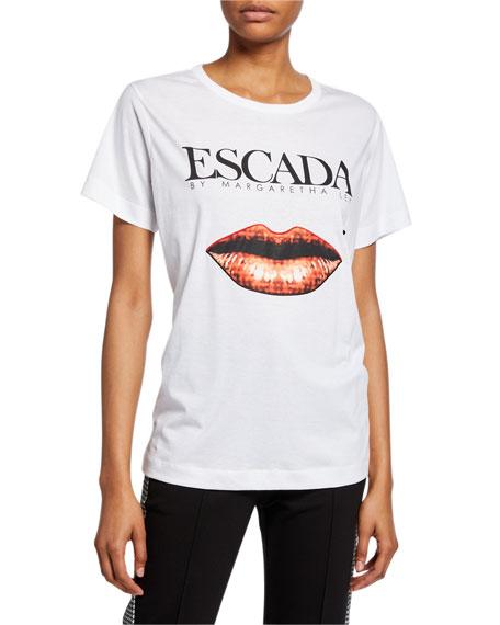 Escada Sport Elabio Logo Graphic Tee