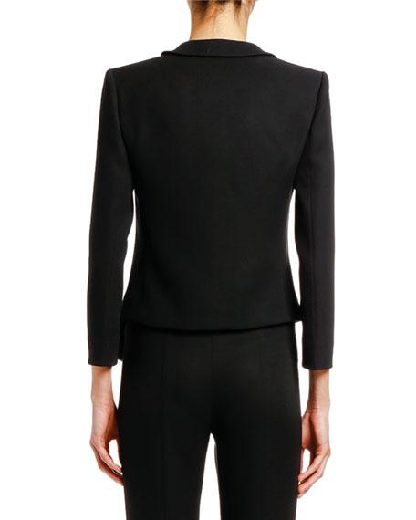 Giorgio Armani Satin-Trim Jacket