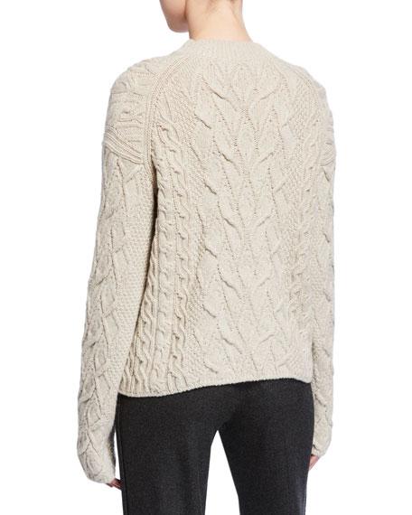 Loro Piana Finsbury Cable-Knit Sweater