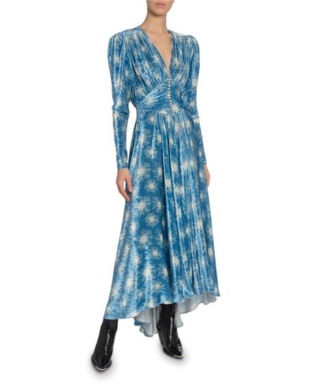 Paco Rabanne Winterstar Velvet Gown