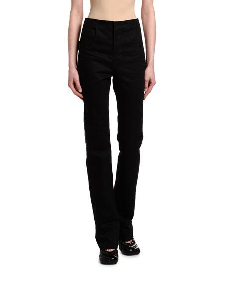 Bottega Veneta High-Rise Flare Leg Jeans