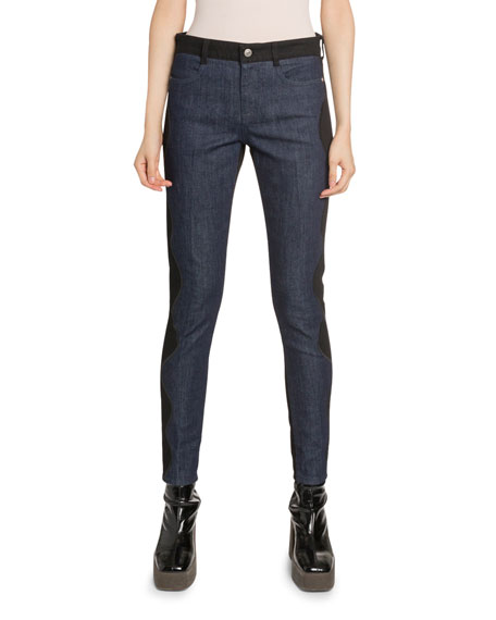 Stella McCartney Western-Detailed Skinny Jeans