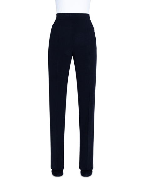 Akris Straight-Leg Pants