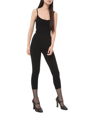 Michael Kors Collection Cashmere Cami Catsuit