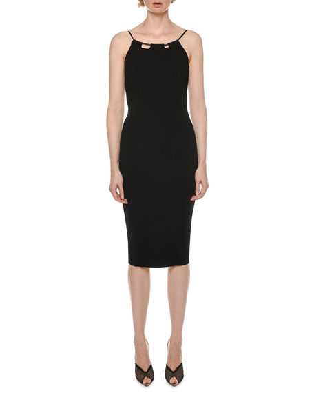 TOM FORD Sleeveless Halter Bodycon Dress