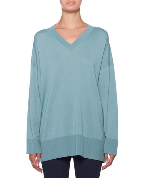 THE ROW Sabrina Cashmere V-Neck Sweater