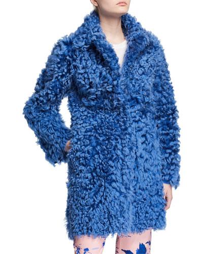 Chubby Lamb Shearling Coat