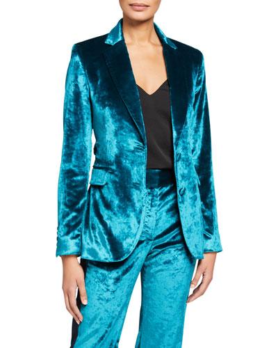 Velvet Blazer Jacket