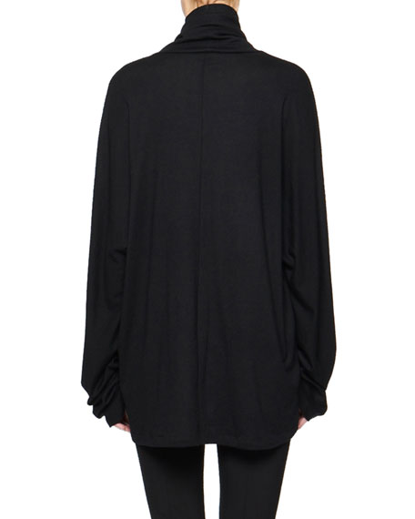 THE ROW Rie Oversized Cashmere Turtleneck Sweater