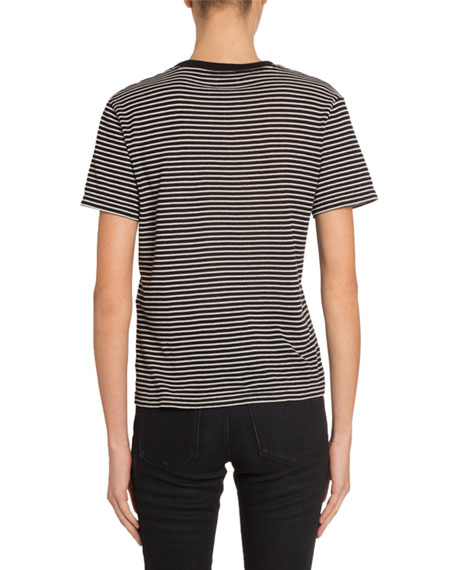 Saint Laurent Short-Sleeve T-Shirt