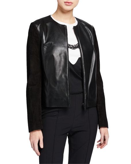 Escada Sport Lika Leather Sport Jacket
