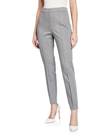 Escada Sport Pinstriped Flannel Pants