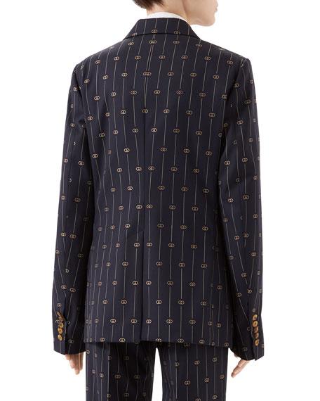 Gucci Retro GG Oversized Jacket