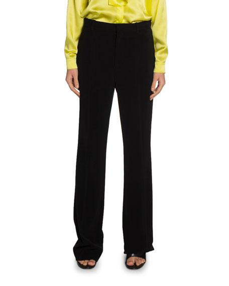 Balenciaga Crepe Twill Tailored Pants