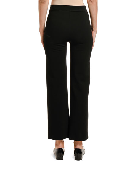 Image 2 of 2: Valentino Jersey Pants with Logo Detail