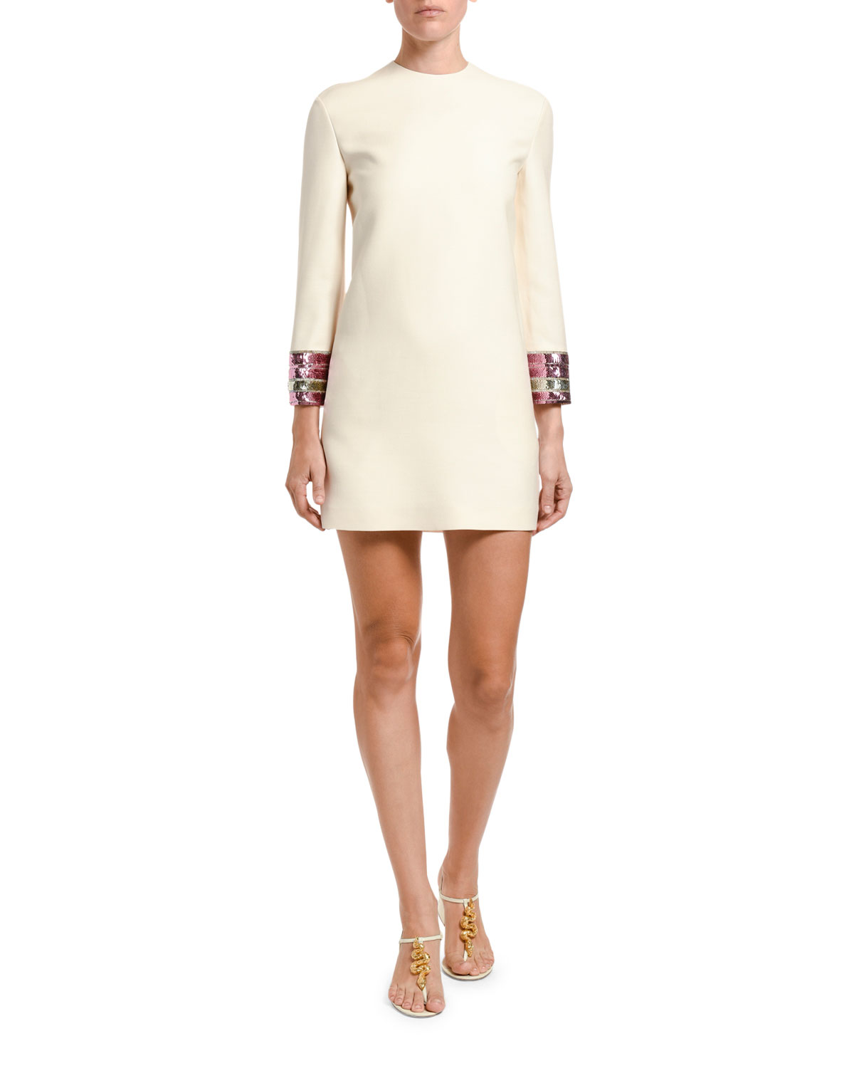 embroidered-cuff-dress by valentino