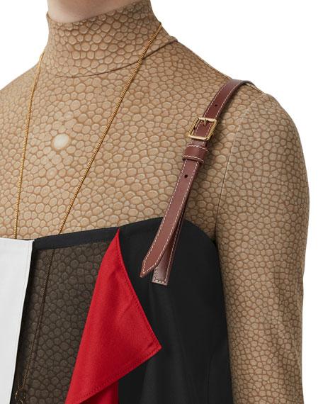 Burberry Silk Layering Halter Top