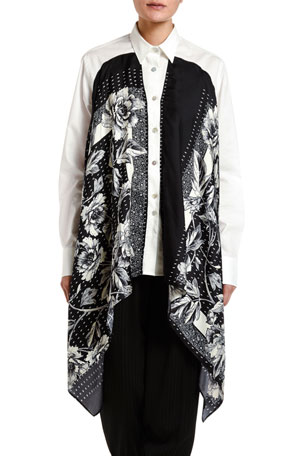 Antonio Marras Silk-Scarf Shirt
