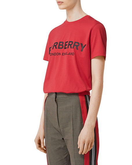 Burberry Dovey Logo Graphic Femme-Fit Tee