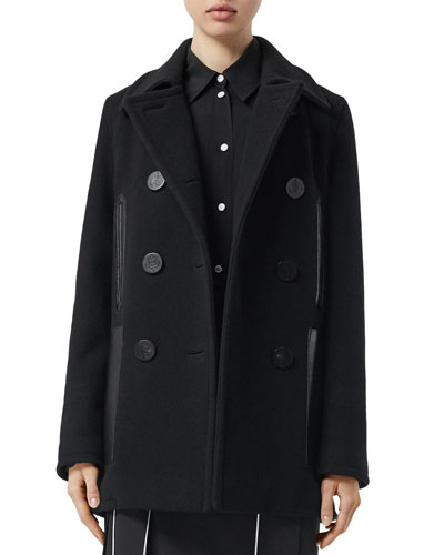 Mossley Wool Pea Coat