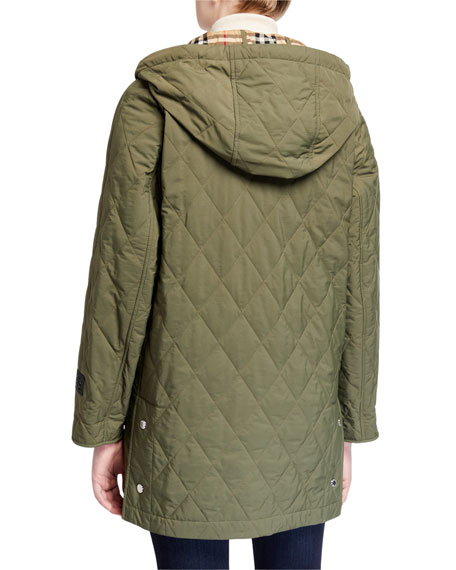 Burberry Roxwell Quilted Jacket
