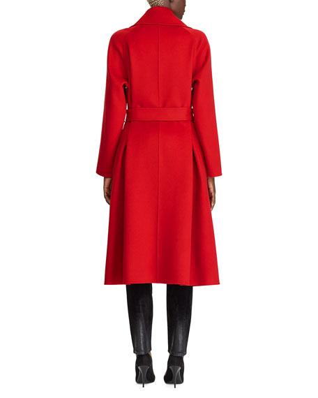 Ralph Lauren Collection Leonarda Cashmere Wrap Coat