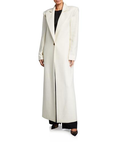 Rania Long Overcoat