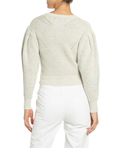 Isabel Marant Cotton-Wool Crewneck Sweater