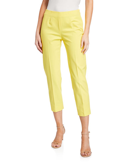 Piazza Sempione Audrey Stretch Cotton Pants