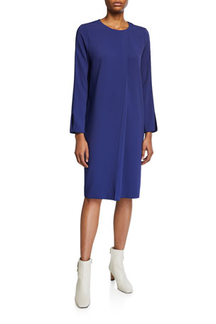 Piazza Sempione Cady Long-Sleeve Dress