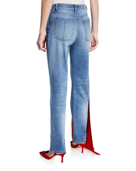 Hellessy Carrington Embellished Straight-Leg Jeans