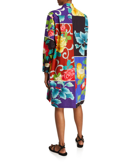 Etro Japanese Cotton Poplin Dress