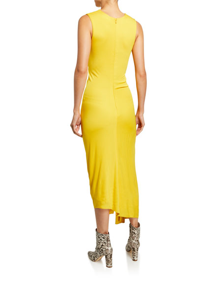 Sies Marjan Jersey Side-Ruched Dress