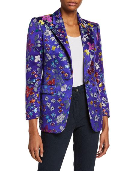 Etro Small Floral Brocade Jacket