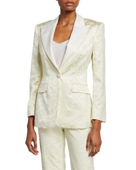 Etro Brocade Tuxedo Jacket