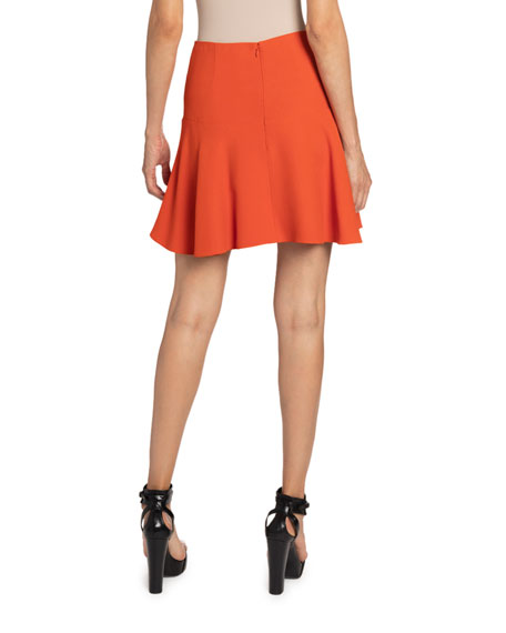 Andrew Gn Short Flippy Skirt