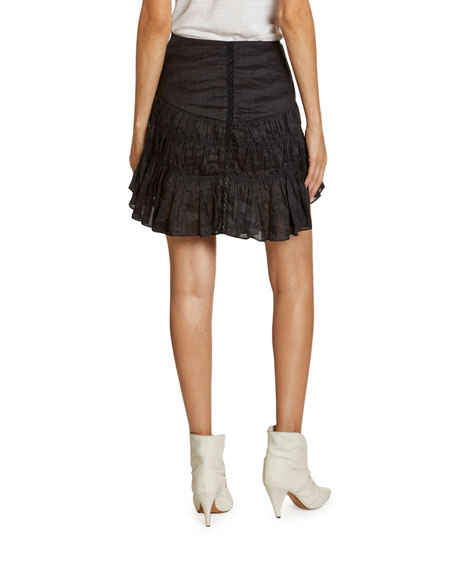 Isabel Marant Sidney Ruched Raimie Skirt
