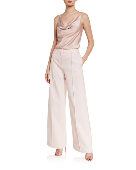 Image 3 of 3: Relaxed Wide-Leg Trousers