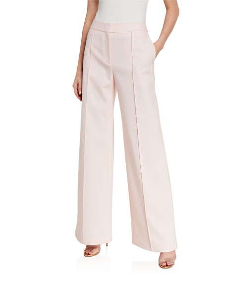 Image 1 of 3: Relaxed Wide-Leg Trousers