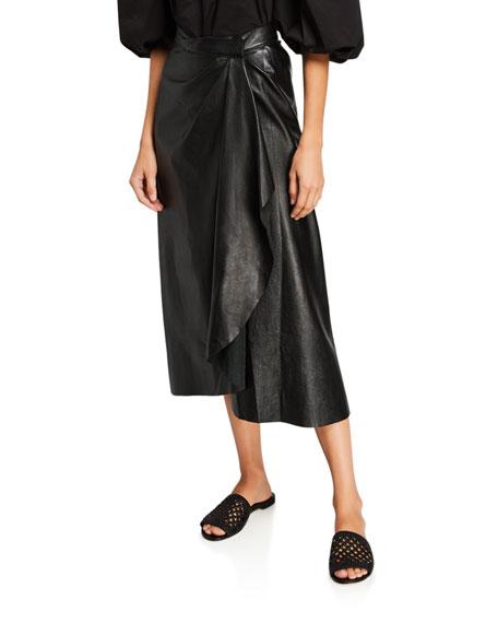 Johanna Ortiz Acclaimed Protagonist Leather Skirt